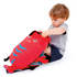Trunki PaddlePak Pinch the Lobster Backpack - Medium - Red: Image 4