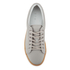 ETQ. Men's Low Top 1 Rubberized Leather Trainers - Alloy/Gum: Image 3