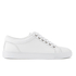 ETQ. Men's Low Top 1 Leather Trainers - White: Image 1