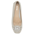 MICHAEL MICHAEL KORS Women's Fulton Leather Moc Pumps - Cement: Image 3