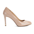 MICHAEL MICHAEL KORS Women's Ashby Leather Court Shoes - Dark Nude: Image 1
