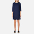 A.P.C. Women's Babba Round Neck Dress - Navy: Image 1