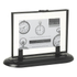 Parlane Glass Photo Frame with Stand - Black (250 x 180mm): Image 1