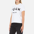 MSGM Women's Logo T-Shirt - White: Image 2