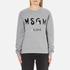 MSGM Women's Logo Sweatshirt - Grey: Image 1
