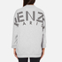 KENZO Women's Logo Short Sweatshirt - Light Grey: Image 3