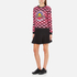 KENZO Women's All Over Print Nagai Tanami Flower Logo Sweatshirt - Red: Image 4
