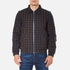 Vivienne Westwood Anglomania Men's Bondage Bomber Jacket - Dark Blue/Brown: Image 1