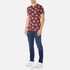 Vivienne Westwood Anglomania Men's Time Machine T-Shirt - Burgundy: Image 4