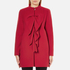 Boutique Moschino Women's Frill Jacket - Red: Image 1