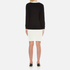 Boutique Moschino Women's Red Bow Jumper Dress - Black: Image 3