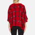 Boutique Moschino Women's Cape Jumper - Red: Image 3