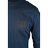 Caterpillar Men's Trademark Long Sleeve T-Shirt - Blue: Image 2