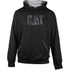 Caterpillar Men's Lightweight Tech Hooded Sweatshirt - Black: Image 1