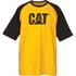 Caterpillar Men's Raglan Trademark T-Shirt - Yellow: Image 1