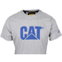Caterpillar Men's Logo T-Shirt - Grey: Image 2