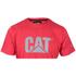 Caterpillar Men's Logo T-Shirt - Red: Image 2