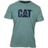 Caterpillar Men's Logo T-Shirt - Green: Image 1