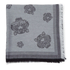 KENZO Women's Iconics Tiger Heads Scarf - Grey: Image 2