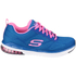 Skechers Women's Skech Air Infinity Low Top Trainers - Blue: Image 1