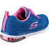 Skechers Women's Skech Air Infinity Low Top Trainers - Blue: Image 2