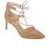Sam Edelman Women's Taylor Leather Lace Up Court Shoes - Golden Caramel: Image 2