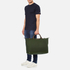 WANT LES ESSENTIELS Men's Hartsfield Weekender Tote - Olive/Gunmetal: Image 8