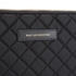 WANT LES ESSENTIELS Men's Florio 13' Computer Folio - Black Quilt/Black: Image 3