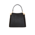 Lulu Guinness Women's Collette Small Leather and Suede Grab Bag  - Black: Image 1
