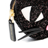 Lulu Guinness Women's Kooky Cat Glitter Coin Purse - Black: Image 3