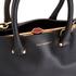 Lulu Guinness Women's Vivienne Medium Smooth Leather Tote Bag - Black: Image 4