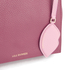 Lulu Guinness Women's Rita Small Shoulder Bag with Lip Charm - Cassis: Image 4