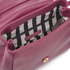 Lulu Guinness Women's Rita Small Shoulder Bag with Lip Charm - Cassis: Image 5