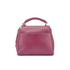 Lulu Guinness Women's Rita Small Shoulder Bag with Lip Charm - Cassis: Image 6