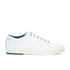 Ted Baker Men's Theeyo3 Leather Cupsole Trainers - White: Image 1