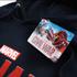 Marvel Mens Captain America Civil War Logo Hoody - Navy: Image 3