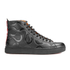 Vivienne Westwood MAN Men's High Top Embossed Squiggle Leather Trainers  - Black: Image 1