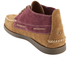 Sperry Men's A/O 2-Eye Wedge Suede Chukka Boots - Tan/Burgundy: Image 4