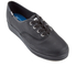 Keds Women's Triple Leather Trainers - Black: Image 2