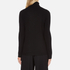 Bella Freud Women's 1970 Polo Merino Wool Jumper - Black: Image 3