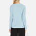 Bella Freud Women's In and Out of Love Merino Jumper - Pale Blue: Image 3