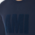 AMI Men's Crew Neck Sweatshirt - Night Blue: Image 5