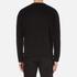 AMI Men's Oversized Crew Neck Sweatshirt - Black: Image 3