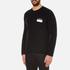 AMI Men's Oversized Crew Neck Sweatshirt - Black: Image 2