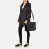 Aspinal of London Women's Small Mount Street Tech Bag - Black Croc: Image 8