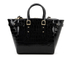 Aspinal of London Women's Marylebone Medium Croc Tote - Black Croc: Image 7