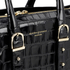 Aspinal of London Women's Marylebone Medium Croc Tote - Black Croc: Image 5