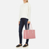 Aspinal of London Women's Regent Tote - Dusky Pink/Rose Dust: Image 2