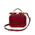 Aspinal of London Women's Mini Croc Trunk - Bordeaux: Image 2