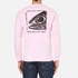OBEY Clothing Men's Mother Earth Long Sleeve T-Shirt - Pink: Image 3